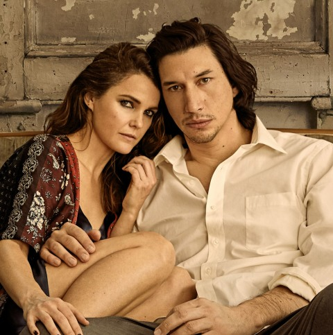Keri Russell, Adam Driver, Burn This, Lanford Wilson, NYC revival, Michael Mayer