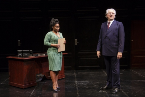 Stacey Sargeant, John Larroquette, Nantucket Sleigh Ride, Jerry Zaks, John Guare, Mitzi E. Newhouse, Lincoln Center Theater