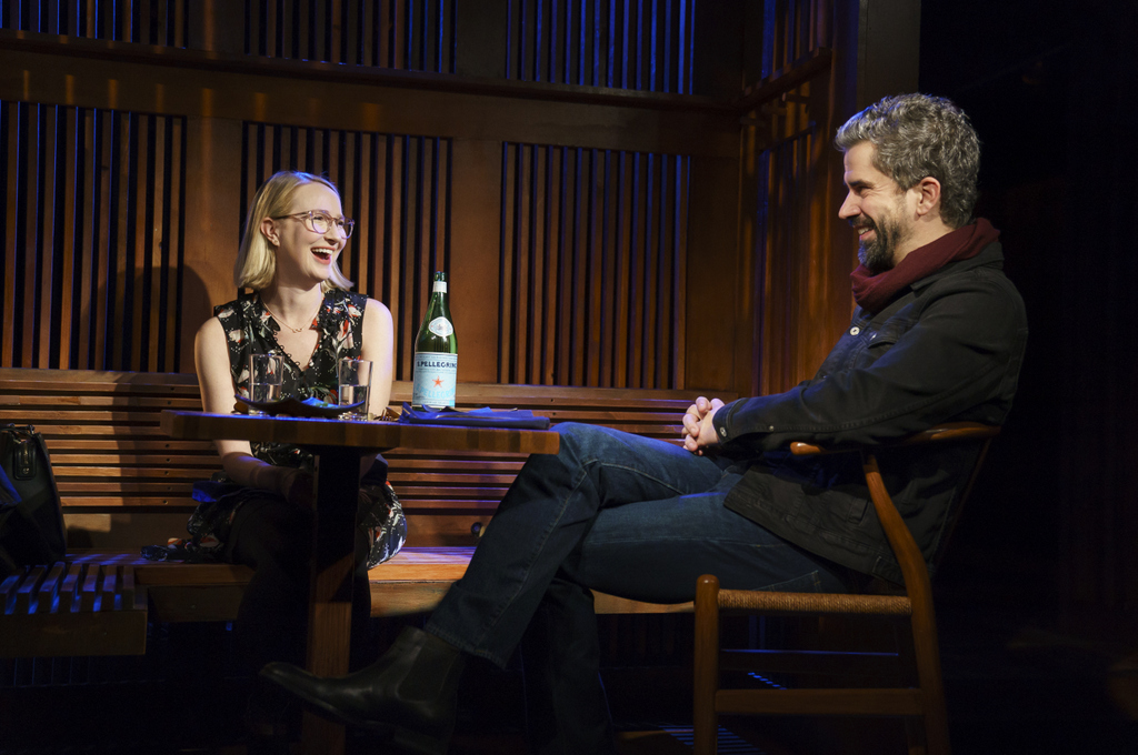 Halley Feiffer, Hamish Linklater, The Pain of My Belligerence, Trip Cullman, Playwrights Horizons