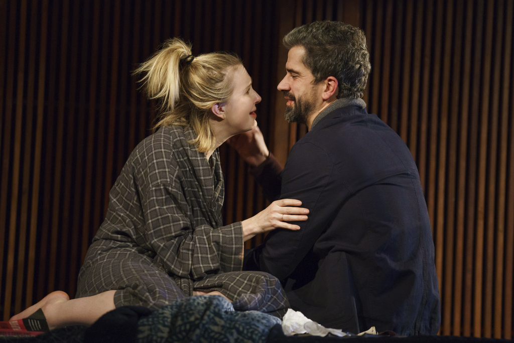 Halley Feiffer, Hamish Linklater, 'The Pain of My Belligerence, Trip Cullman, Playwrights Horizons