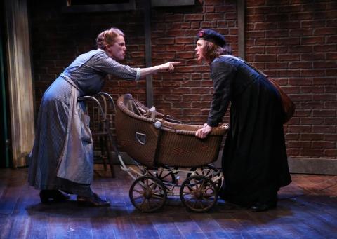 Una Clancy, Maryann Plunkett, Irish Repertory Theatre, The Plough and the Stars, Sean O'Casey
