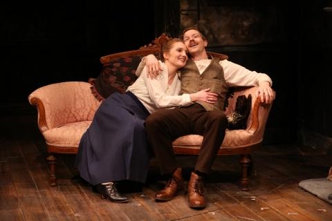lare O'Malley, Adam Petherbridge, Irish Repertory Theatre, The Plough and the Stars