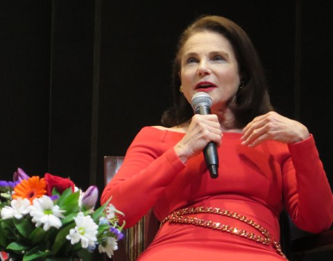 Linda Winer, Tovah Feldshuh, NYPL for the Performing Arts, Lincoln Center, LPTW
