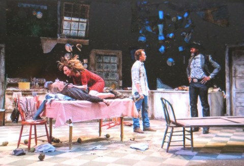 David Warshofsky, Maggie Siff, Gilles Geary, Esau Pritchett, 'Curse of the Starving Class,' Terry Kinney, Sam Shepard