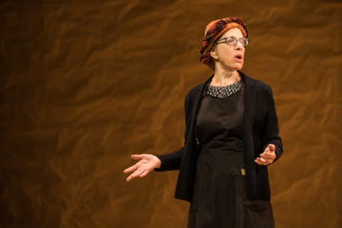Jackie Hoffman, Fiddler on the Roof in Yiddish, Joel Grey