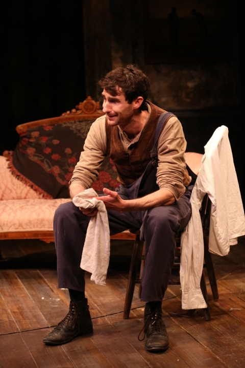 James Russell, Irish Repertory Theatre, The Plough and the Stars, Charlotte Moore, Sean O'Casey