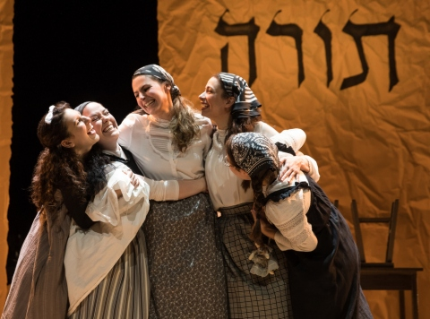 Raquel Nobile, Rosie Jo Neddy, Rachel Zatcoff, Stephanie Lynne Mason, Samantha Hahn, Fiddler on the Roof in Yiddish
