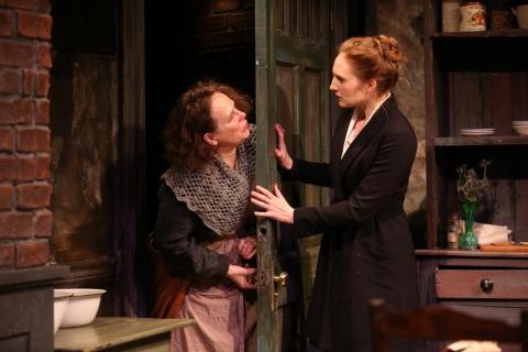 Maryann Plunkett, Clare O'Malley, Irish Repertory Theatre, The Plough and the Stars, Sean O'Casey, Charlotte Moore