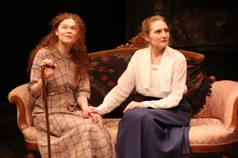 Meg Hennessy, Clare O'Malley, Irish Repertory Theatre, The Plough and the Stars, Sean O'Casey