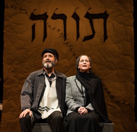 Steven Skybell, Jennifer Babiak, Fiddler on the Roof in Yiddish, Joel Grey