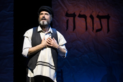 Steven Skybell, Fiddler on the Roof in Yiddish, Joel Grey