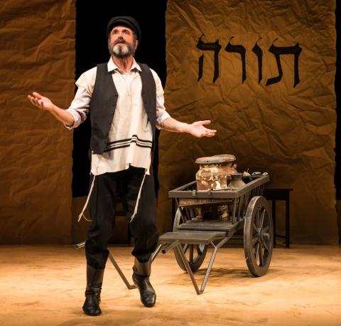 Steven Skybell, Fiddler on the Roof in Yiddish, Joel Grey