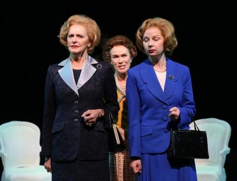 Kate Fahy, Susan Lynskey, Beth Hylton, Handbagged, Margaret Thatcher, Queen Elizabeth II, 59e59 Theaters