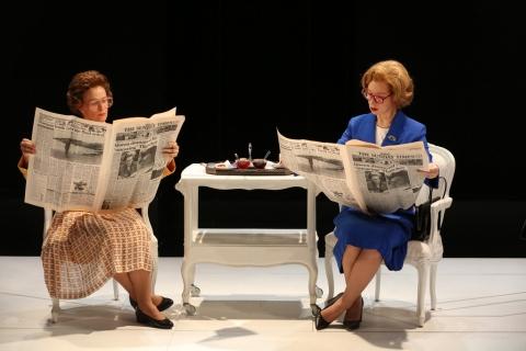 Beth Hylton, Susan Lynskey, Handbagged, Moira Buffini, Indhu Rubasingham, 59e59 Theaters