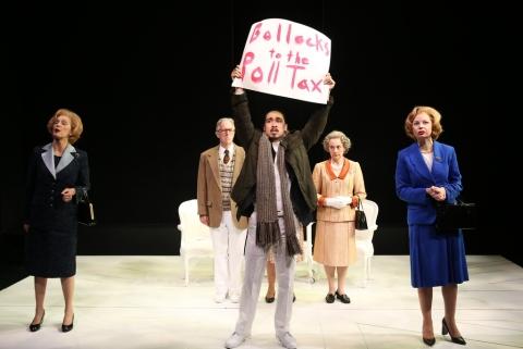 Kate Fahy, John Lesault, Cody Leroy Wilson, Anita Carey, Susan Lynskey, 'Handbagged, Brits Off Broadway