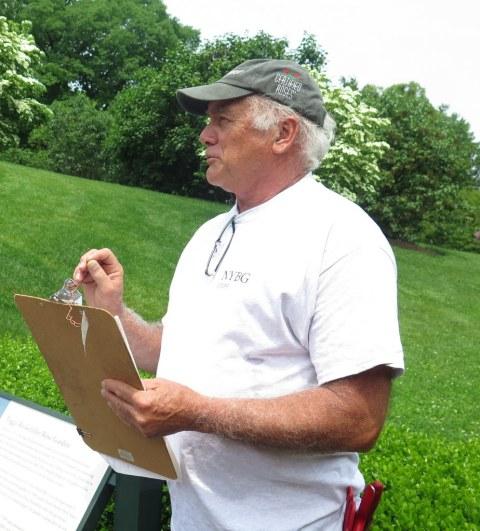 NYBG, Peggy Rockefeller Rose Garden, Stephen Scanniello, Curator of Roses