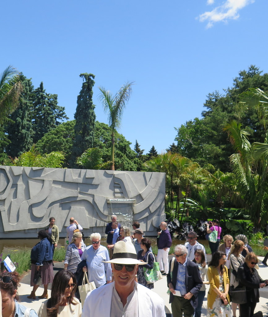 "Raymond Jungles, Guest Designer,'Brazilian Modern"" The Living Art of Roberto Burle Marx,'  NYBG Installation (June 8-September 29) NYBG,"