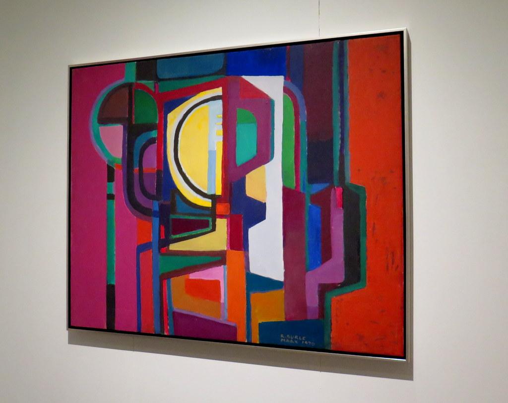 "'Brazilian Modern"" The Living Art of Roberto Burle Marx,' Untitled, 1970 by Roberto Burle Marx, acrylic on canvas NYBG Installation (June 8-September 29)"