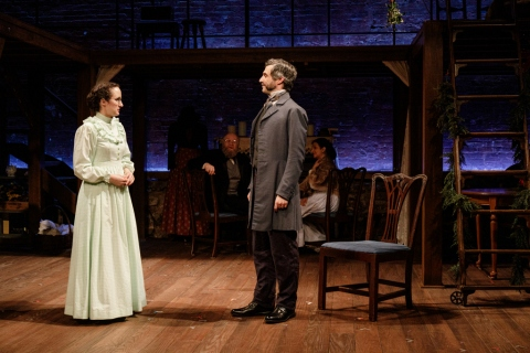 Kate Hamill, Michael Crane, Primary Stages, Kate Hamill, Louisa May Alcott, Little Women