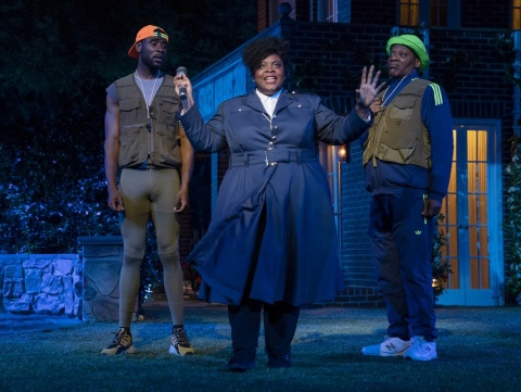 Lateefah Holder, William Shakespeare, Much Ado About Nothing, Kenny Leon, Shakespeare in the Park