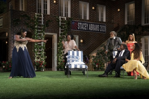 Danielle Brooks, Olivia Washington, Erik Laray Harvey, Chuck Cooper, Tiffany Denise Hobbs, Margaret OdetteWilliam Shakespeare, Much Ado About Nothing, Kenny Leon, Shakespeare in the Park, Public Theater