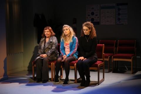 Marsha Mason, Lauren Oleary, Brenda Meaney, Little Gem, Irish Repertory Theatre, Elaine Murphy, Marc Atkinson Borrull