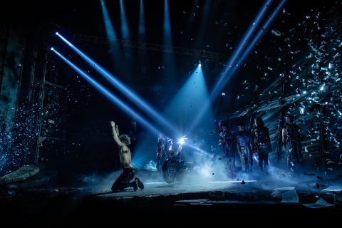 Andrew Polec, Jim Steinman, Meatloaf, Jay Scheib, New York City Center, Bat out of Hell the Musical