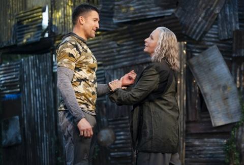 Jonathan Cake, Kate Burton, Coriolanus, Free Shakespeare in the Park, Daniel Sullivan