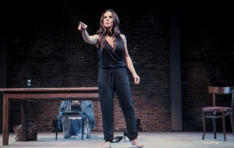 Jo Bonney, Minetta Lane Theatre, Isaac Gomez, the way she spoke, Kate del Castillo