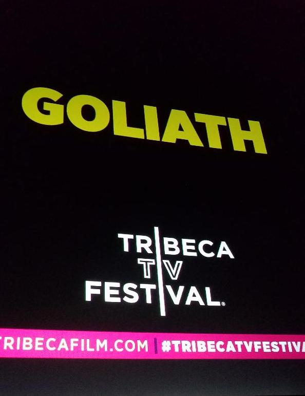 GOLIATH, Tribeca TV Festival, Billy Bob Thornton, Lawrence Trilling, Amazon Studios