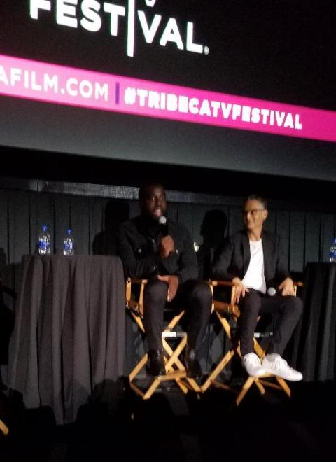 Shamier Anderson, Lawrence Trilling, GOLIATH, Tribeca TV Festival, Amazon Studios