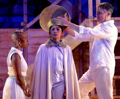 Brenda Braxton, Teresa Avia Lim, Robert Cuccioli in Caesar & Cleopatra, George Bernard Shaw, Gingold Theatrical Group