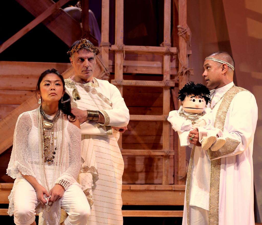 Teresa Avia Lim, Robert Cuccioli, Rajesh Bose, George Bernard Shaw, Caesar & Cleopatra, Theatre Row