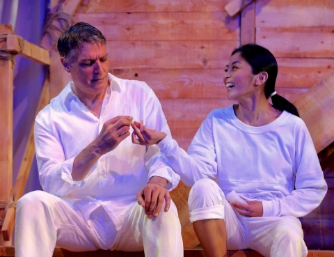 Caesar & Cleopatra, George Bernard Shaw, Robert Cuccioli, Teresa Avia Lim, David Staller, Gingold Theatrical Group