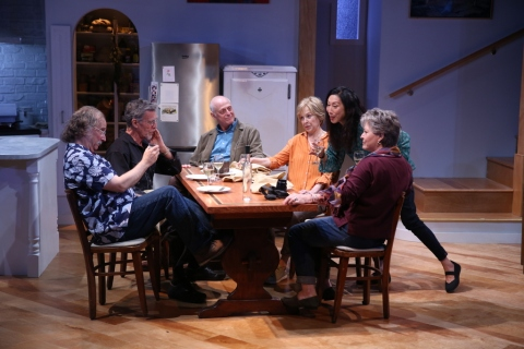 Mark Linn-Baker, John Glover, Mark Blum, Jill Eikenberry, Jodi Long, Ellen Parker. Michael Tucker. Fern Hill 59E59 Theaters