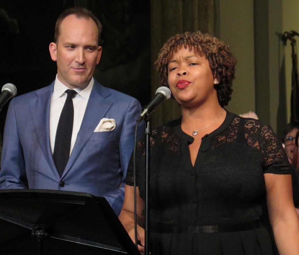 Liseli Lugo, Stephen Carlile, Broadway Blessing 2019