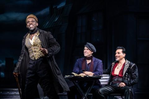 Sahr Ngaujah, Aaron Tveit, Ricky Rojas, Moulin Rouge! The Musical, Alex Timbers