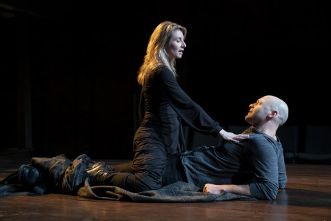 Nadia Bowers, Corey Stoll, Macbeth, William Shakespeare, CSC, John Doyle