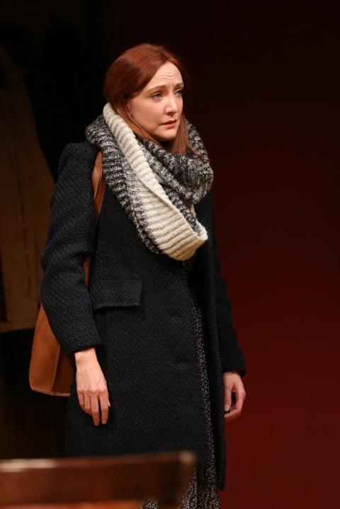 Sarah Street, Ciarán O'Reilly, Irish Repertory Theatre, Dublin Carol, Conor McPherson,