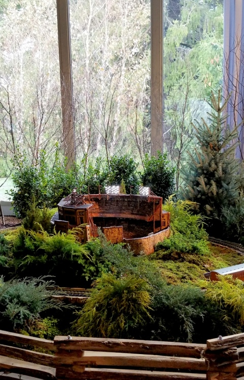 Yankee Stadium, NYBG, 28th Holiday Train Show, Applied Imagination