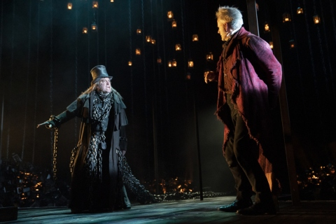 hris Hoch, Campbell Scott, A Christmas Carol, Charles Dickens, Jack Thorne, Matthew Warchus