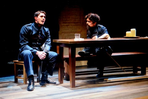 Blake Jenner, Peter Dinklage, Cyrano, The New Group, Daryl Roth Theatre