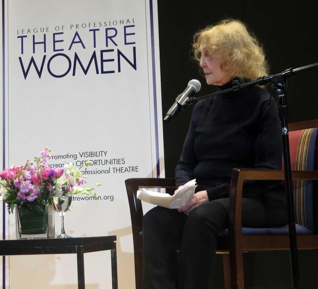 Charlotte Moore, LPTW, Angela Lansbury in Conversation With Charlotte Moore, NYPL for the Performing Arts