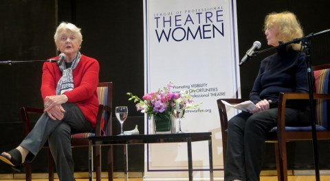 Angela Lansbury, Charlotte Moore, LPTW, Angela Lansbury in Conversation With Charlotte Moore, NYPL for the Performing Arts