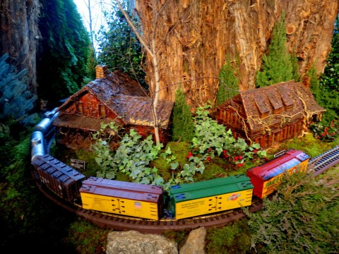 Holiday Train Show 2019, NYBG, Applied Imagination