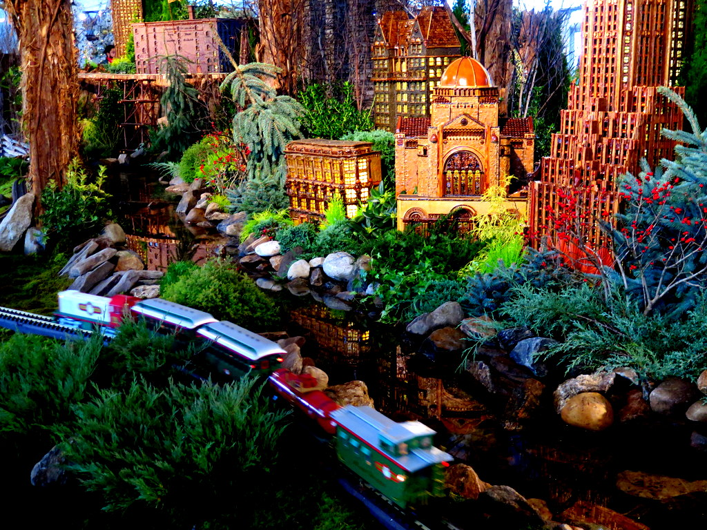 The Holiday Train Show 2019, New York Botanical Garden, Applied Imagination