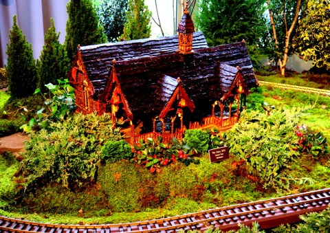 The Dairy, NYBG 28th Holiday Train Show, Applied Imagination