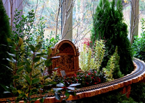 28th Holiday Train Show, Applied Imagination, NYBG, The Naumberg Bandshell