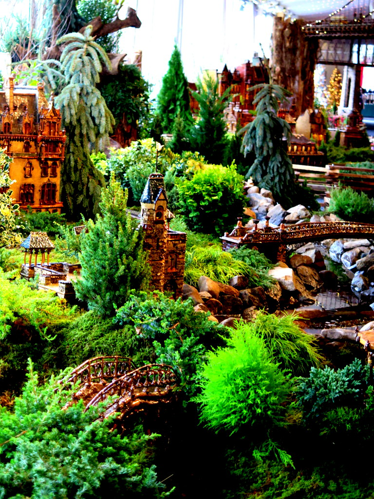NYBG, Applied Imagination, Holiday Train Show 2019