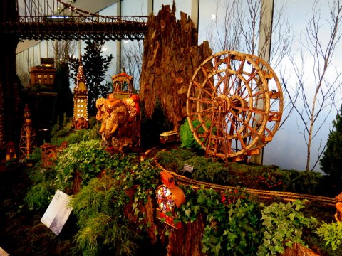Holiday Train Show 2019, Coney Island Exhibit, NYBG